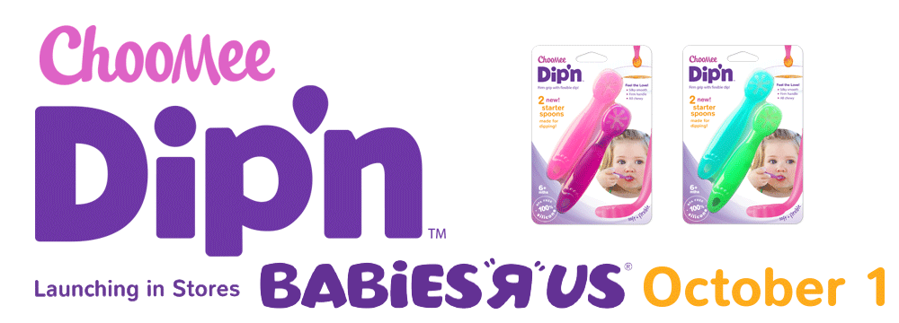 ChooMee Dipn Starter Spoon Launching in Babies R Us